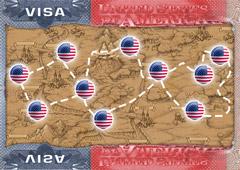 Где проще и быстрее получить американскую визу?