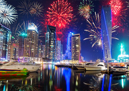 Зимние каникулы в Дубае: где жить и как провести время?