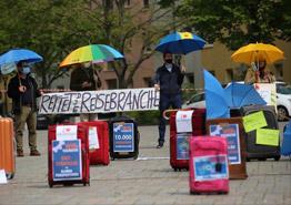 Майские демонстрации снова в силе