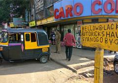 Как бастовали таксисты в Гоа