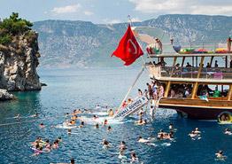 В Турции снова курорт: смотрим и завидуем
