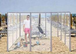 Пляжи за стеклом – будущее морского отдыха?