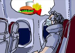 «Новая нормальность» авиапутешествий: маски, тесты, голод