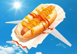 Авиакомпании готовы возить за еду