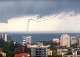 В Крыму потоп и сель, а в Сочи – смерч