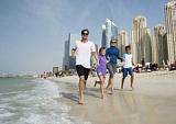 Дубай, он и летом Дубай